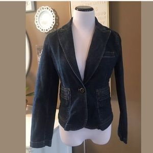 The Limited Stretch Denim Jacket Blazer Jean